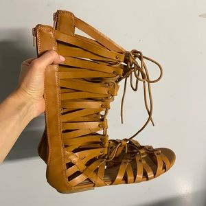 NWOT Gladiator style sandals